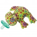 Kiwi Frog Wubbanub Pacifier - Polybag by Mary Meyer (41915)