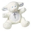 Christening Lamb (w/ Rattle) by Mary Meyer (56630)