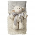 Marshmallow Lamb Cuddle Blanket Set by Mary Meyer (40576) - FREE SHIPPING!