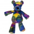 Marshmallow Big Tie Dye Teddy by Mary Meyer (40751) - FREE SHIPPING!