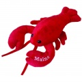 Lobbie Lobster - Small with Maine Embroidery by Mary Meyer (50641)